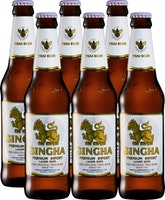 Bière lager Singha