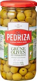 La Pedriza grüne Oliven