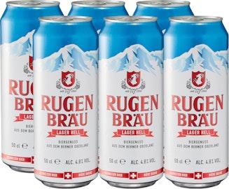 Birra lager chiara Rugenbräu