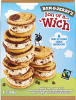 Ben & Jerry's Mini Ice Cream Cookie Sandwiches