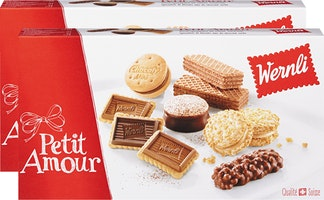 Assortiment de biscuits Petit Amour Wernli