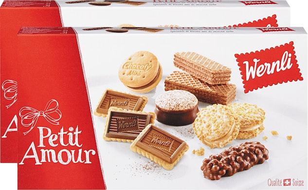 Assortimento di biscotti Petit Amour Wernli