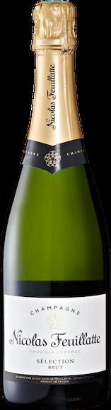 Nicolas Feuillatte Sélection brut Champagne AOC De face