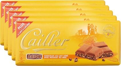 Tavoletta di cioccolata Rayon Latte Cailler