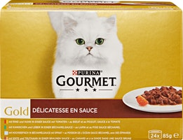 Nourriture pour chats Gourmet Gold Purina
