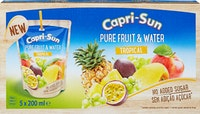 Capri-Sun Pure Fruit & Water Tropical