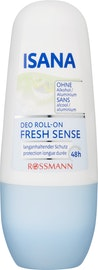 Deodorante Roll-on Fresh Sense ISANA