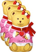 Orsetto dorato Teddy Girl Lindt