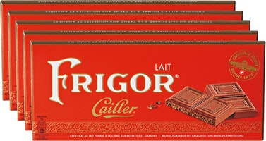 Tablette de chocolat Frigor Cailler