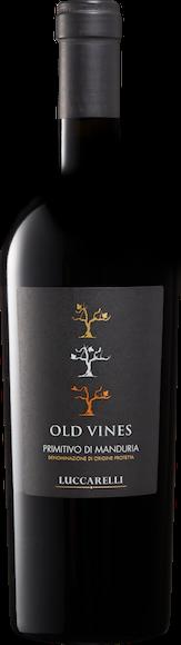 Luccarelli Old Vines Primitivo di Manduria DOP Vorderseite