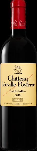 Château Léoville Poyferré St.Julien AOC 2018 Vorderseite