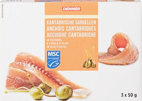 Filets d'anchois Denner