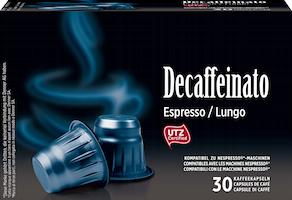 Denner Kaffeekapseln Decaffeinato