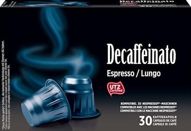 Capsule di caffè Decaffeinato Denner