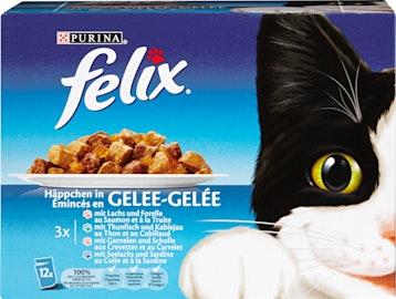 Cibo per gatti bocconcini in gelatina Felix