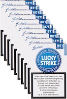 Lucky Strike Limited Edition Blue