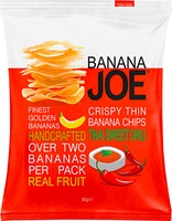 Banana Joe Salzige Bananen Chips Thai Sweet Chili