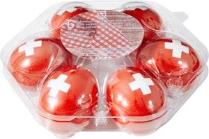 Uova da picnic svizzere 1. Agosto