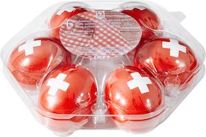 Schweizer Picnic-Eier 1. August