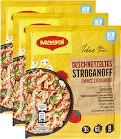 Maggi Mix Gewürzmischung für Geschnetzeltes Stroganoff