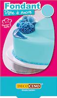 Fondente di zucchero azzurro Decocino