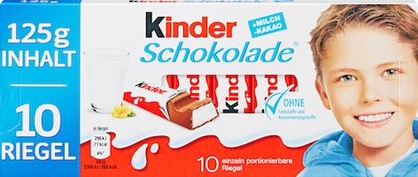 Ferrero Kinder Schokolade