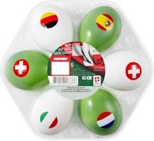 Uova svizzere da picnic