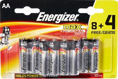 Piles max Energizer