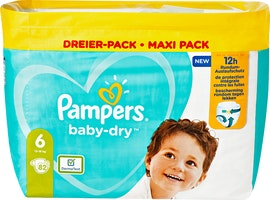 Couches extra-larges Pampers Baby-Dry