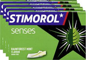 Chewing-gum Rainforest Mint Senses Stimorol
