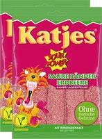 Katjes Sour Power Saure Erdbeer Bänder