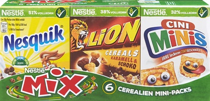 Céréales Mini Packs Mix Nestlé