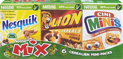 Céréales Mini Packs Mix Nestlé