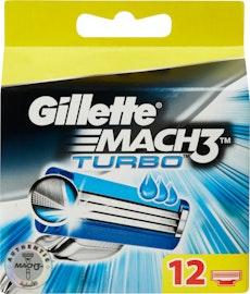 Lamette da barba Mach3 Turbo Gillette
