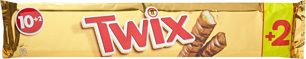 Barres de chocolat Twix