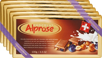 Tablette de chocolat Swiss Premium Alprose