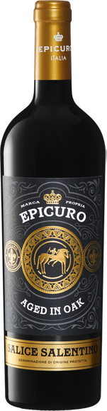Epicuro Salice Salentino DOP Aged in Oak Vorderseite