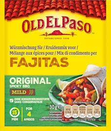 Old El Paso Fajitas Würzmischung