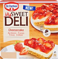 Cheesecake My Sweet Deli Dr. Oetker
