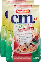 familia Müesli c.m.plus Waldbeeren