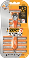 BIC 3-Klingen-Herrenrasierer Hybrid