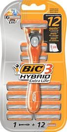 Rasoio da uomo a 3 lame Hybrid BIC