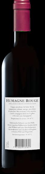 Carmelin Humagne Rouge du Valais AOC Zurück
