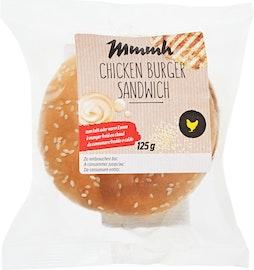 Sandwich con Chicken Burger Mmmh