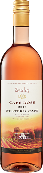Zonneberg Cape Rosé Vorderseite