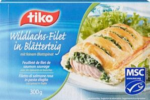 Feuilleté de filet de saumon sauvage Tiko