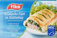 Tiko Wildlachs-Filet in Blätterteig