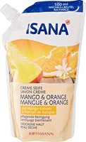 ISANA Crèmeseife Mango & Orange