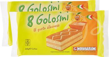 Golosini Albicocca Gusparo