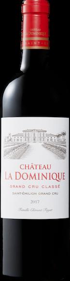 Château La Dominique Grand Cru Classé Saint-Emilion AOC Vorderseite